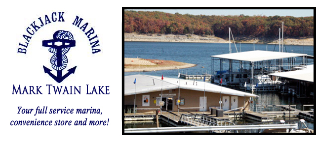 Blackjack marina mark twain lake mo